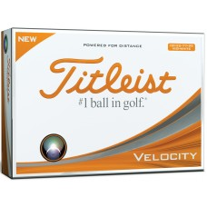 Titleist Velocity Visi-White Double Digit