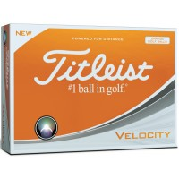 Titleist Velocity Orange - New 2018