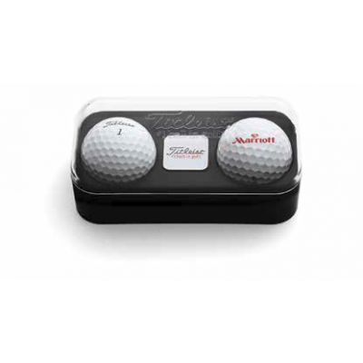 Titleist 2 Ball Gift Pack with Ball Marker