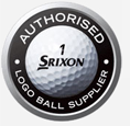 Authorised Srixon personalised golf balls supplier